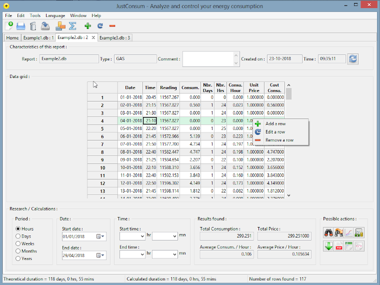 Software manager energy consumption features for free